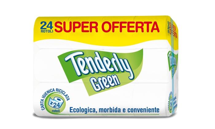 TENDERLY CARTA IGIEN. GREEN 24 ROT  -  ean: 8004338005173