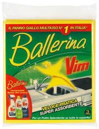 VIM PANNO BALLERINA MULTIUSO X3PZ.  -  ean: 8006320077007