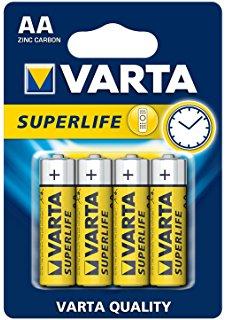 VARTA BATTERIE SUPERLIFE STILO AA   -  ean: 4008496556267