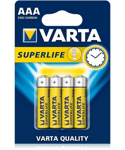 VARTA BATTERIE SUPERLIFE MINISTILO AAA   -  ean: 4008496676187