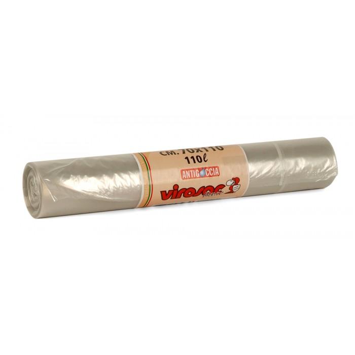 VIROSAC SACCO RIFIUTI NEUTRO 70X110 (110LT) X 10  -  ean: 8008250136090
