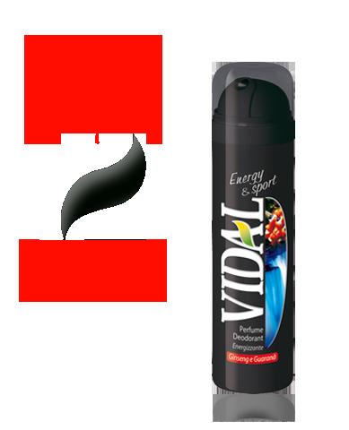 VIDAL DEO SPRAY ENERGY & SPORT 150ML  -  ean: 8008970002705